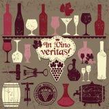 Vector stock illustration ow vintage vine Stock Photos
