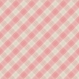 Vector stoffen rode & witte naadloze achtergrond Royalty-vrije Stock Fotografie