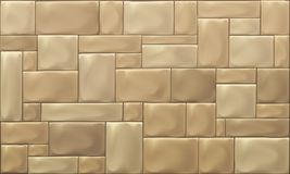 Vector Stone Block Wall Royalty Free Stock Photography
