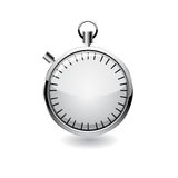 Vector stop watch, realistic illustration. Royalty Free Stock Photos