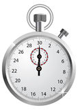 Vector stopwatch Royalty Free Stock Images