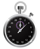Vector stopwatch Royalty Free Stock Photography