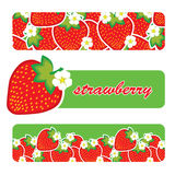 Vector strawberry Stock Photography