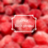 Vector strawberry background Royalty Free Stock Photos