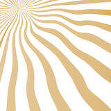 Vector striped background. Backdrop with sunny rays fits for 60-s-70-s stylization Royalty Free Stock Photography