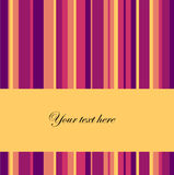 Vector striped background with place for text Stock Photo