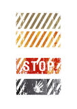 Vector striped backgrounds Royalty Free Stock Image