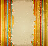 Vector striped grunge background Stock Photography