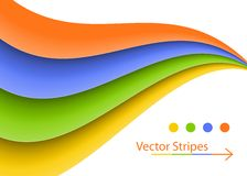 Vector Stripes Background Royalty Free Stock Images