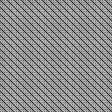 Vector stripes of line design seamless diagonal pattern. Stock Photography