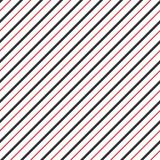 Vector stripes of red line seamless diagonal pattern. Stock Photo