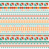 Vector stripes seamless pattern Royalty Free Stock Photo