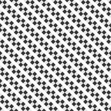 Vector stripes of square seamless diagonal pattern. Royalty Free Stock Photography
