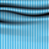 Vector stripped drapery. Soft cloth with stripes. Much space for Stock Image
