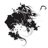 Vector stylish illustration Royalty Free Stock Images