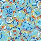 Vector Stylization des Marmorpapiers, nahtloses abstraktes Muster T Stockfoto