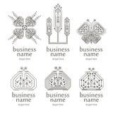 Virtual logo Stock Photography