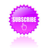 Vector subscribe icon Royalty Free Stock Image