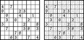 Vector Sudoku game Royalty Free Stock Photo