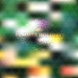 Vector Summer Background Stock Image