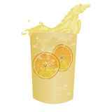 Vector Summer cocktail fresh drink Stock Image