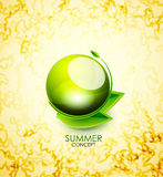 Vector summer concept Royalty Free Stock Image