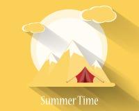 Vector summer design Royalty Free Stock Photo