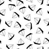 Summer patterns. Vector summer seamless pattern. marine sailboat on white background vector illustration