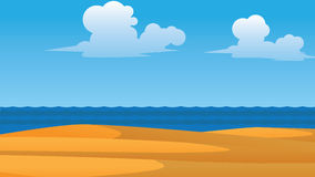 Vector summer wallpaper Royalty Free Stock Photo