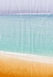 Vector Summertime at the beach. Sea Stock Photography