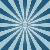 Vector sun burst background, blue sky Royalty Free Stock Image