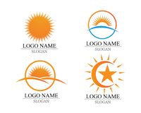 Vector - Sun burst star icon logo and symbols. Vector - Sun burst star icon logo and symbols Royalty Free Stock Photo