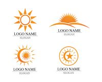 Vector - Sun burst star icon logo and symbols. Vector - Sun burst star icon logo and symbols Stock Photo