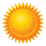 Vector Sun Stock Images