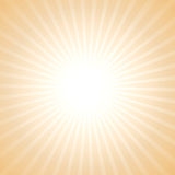Vector sun light background. Stock Photos