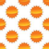 Vector sun pattern Stock Photos