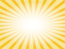 Vector sunburst Stock Images