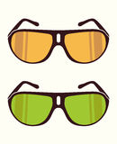 Vector sunglasses Stock Images