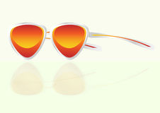 Vector sunglasses Royalty Free Stock Photography