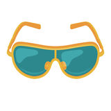 Vector Sunglasses Icon Royalty Free Stock Photos