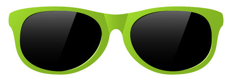 Vector sunglasses Royalty Free Stock Photos