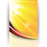 Vector sunny abstract background Stock Images