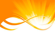 Vector sunny background Royalty Free Stock Photo