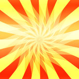 Vector Sunshine Abstract  Royalty Free Stock Image