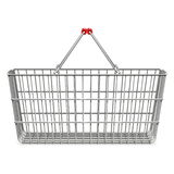 Vector Supermarket Basket Royalty Free Stock Images