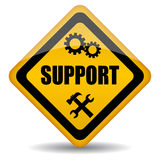 Vector support sign Royalty Free Stock Images