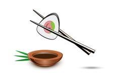Vector sushi illustration Stock Image