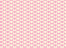 Vector Swatch Heart Striped Fabric Background Stock Photo