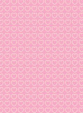 Vector Swatch Heart Striped Fabric Background Royalty Free Stock Images