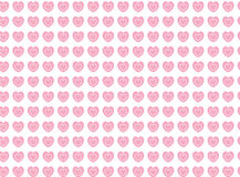 Vector Swatch Heart Striped Fabric Background royalty free stock image